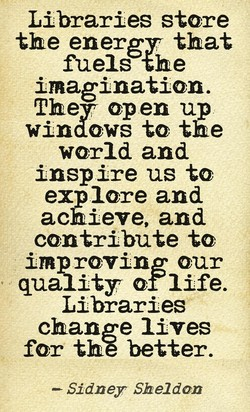 Libraries store 