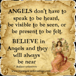 ANGELS don't have to 