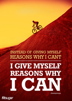 INSTEAD OF GIVING MYSELF 