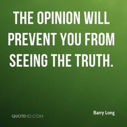 THE OPINION WILL 