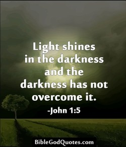 Light shines 