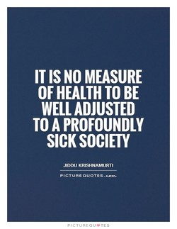 IT IS NO MEASURE 