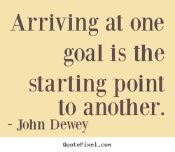 Arriving at one 