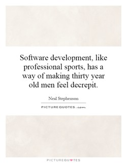 Software development, like 