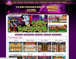 HOME ABOUTus GETTING STARTED GAMES PROMOTIONS CASHIER LOUNGE suppoRT 