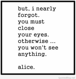 but, i nearly 
