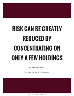 RISK CAN BE GREATLY 