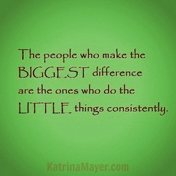 The people who make the 