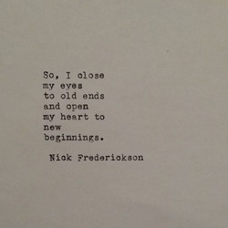 So, I close 