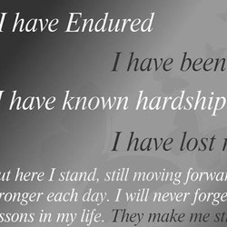I have Endured 