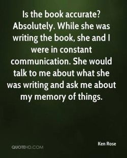 Is the book accurate? 