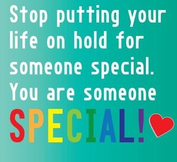 Stop putting your 