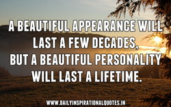 LAST A FEW DECADES, 