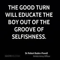 THE GOOD TURN 