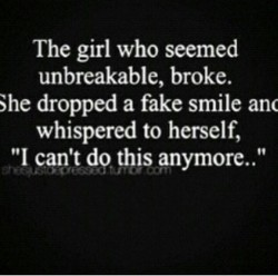 The girl who seemed 