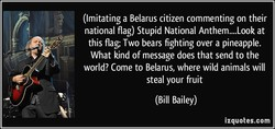 (Imitating a Belarus citizen commenting on their 
