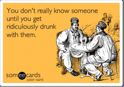 You don't really know someone 