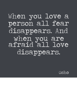 When you love a 