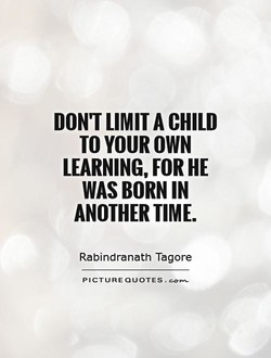 DON'T LIMIT A CHILD 