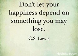 Don't let your 