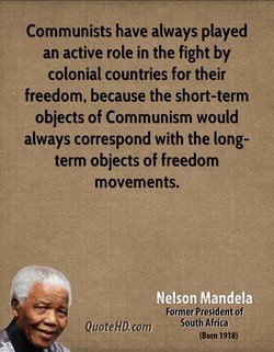Communists have always played 