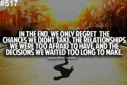 IN THE END WE ONLY THE 