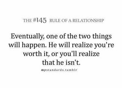 THE #145 RULE OF A RELATIONSHIP 