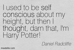 I used to be self 