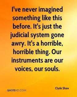 I've never imagined 