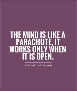 THE MIND IS LIKE A 