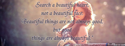 Search a beaut!ful'hearf, 