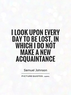 I LOOK UPON EVERY 