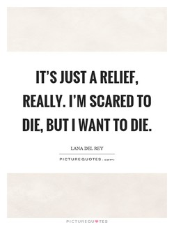 IT'S JUST A RELIEF, 