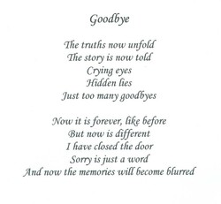 Goodbye 