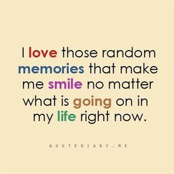 I love those random 