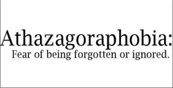 thazagoraphobia: 