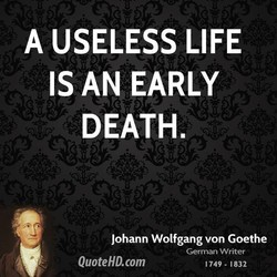 A USELESS LIFE 