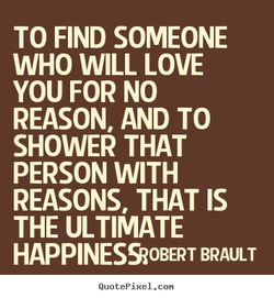 TO FIND SOMEONE 