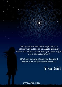 Did you that night Sky 