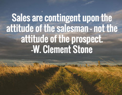 Sales are contingent upon the 