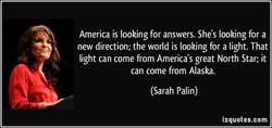 America is looking for answers. She's looking for a 
