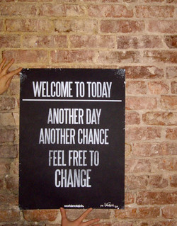 WELCOME TODAY 