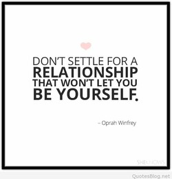 DON'T SETTLE FOR A 
