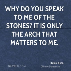 WHY DO YOU SPEAK 
