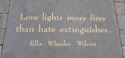 Love lights more fires 