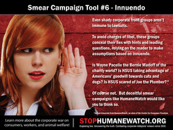 Smear Campaign Tool #6 - Innuendo 