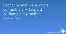 Sooner or later we all quote 