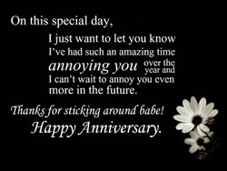 On this special day, 