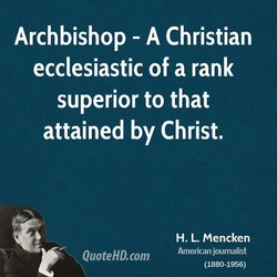 Archbishop - A Christian 