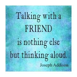 Talking with a 